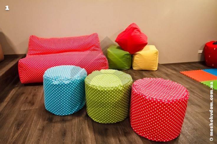 Какие бывают наполнители в бескаркасную мебель, их отличительные черты и особенности