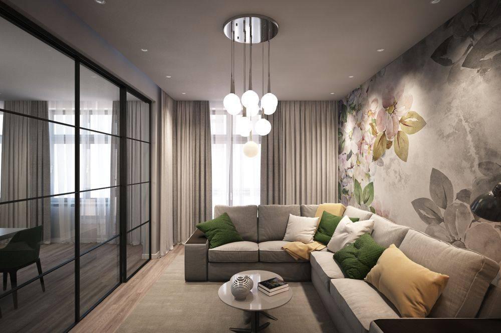 Правила и варианты грамотного оформления гостиной 18 метров