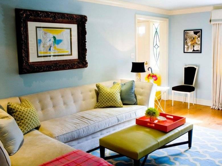 Сочетание цветов в интерьере стен: выигрышные комбинации