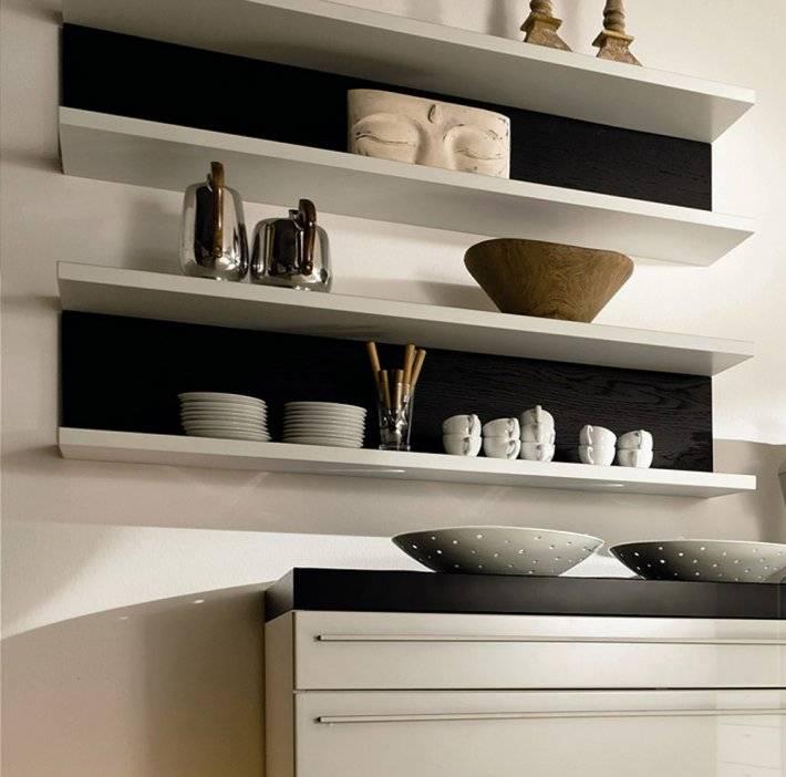 Полки для кухни на стену своими руками: дизайн и изготовление