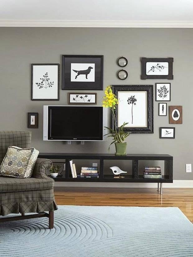Декор для гостиной: 100 фото красивых идей в интерьере