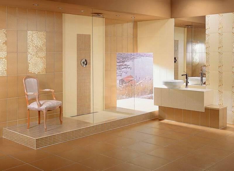 Цвет плитки в ванной: советы по выбору цвета и современного дизайна оформления