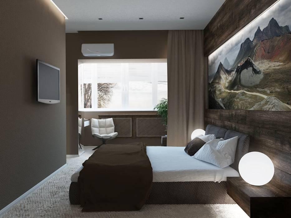 Дизайн спальни в стиле модерн с фото