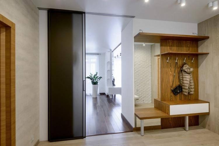 Гостиная в коридоре, как оформить и объединить: варианты дизайна и удачной планировки (120 фото)