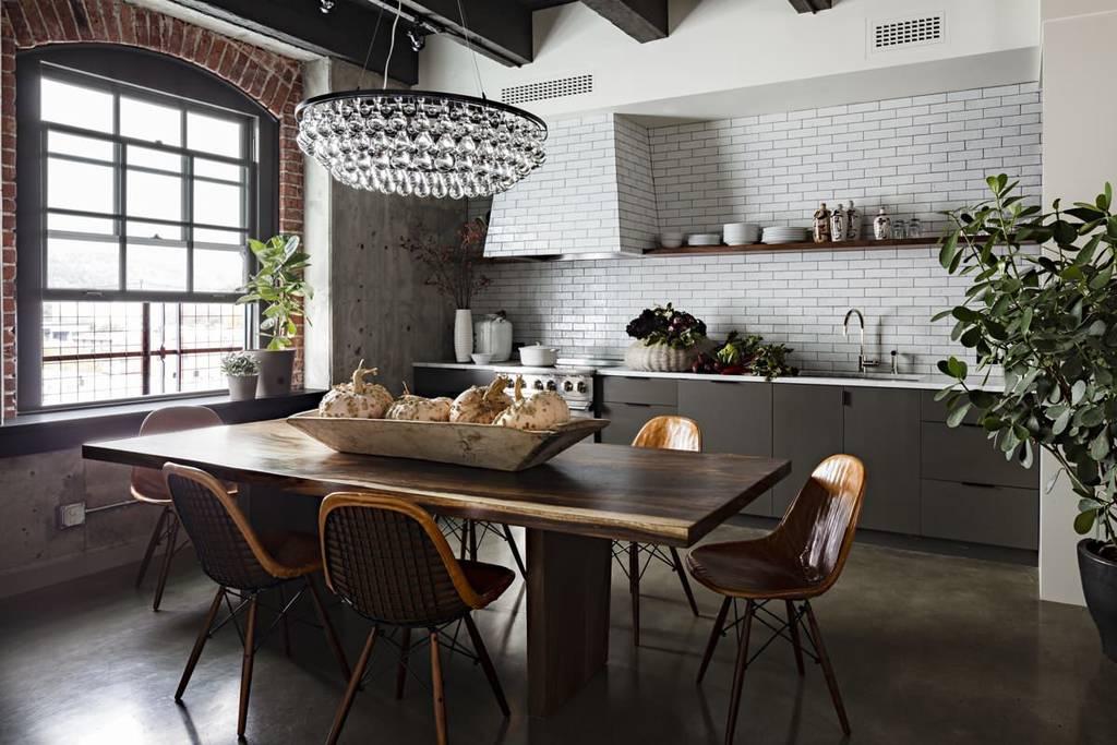 Кухня в стиле лофт - особенности дизайна в современном интерьере квартиры