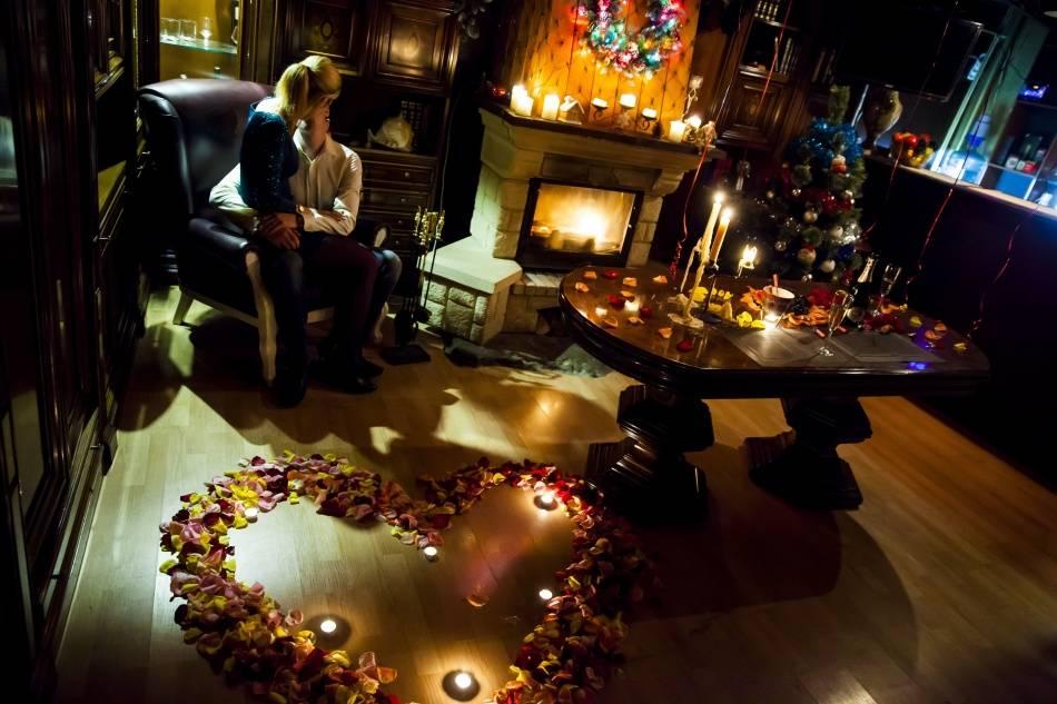 Идеи романтическеского вечера для двоих дома