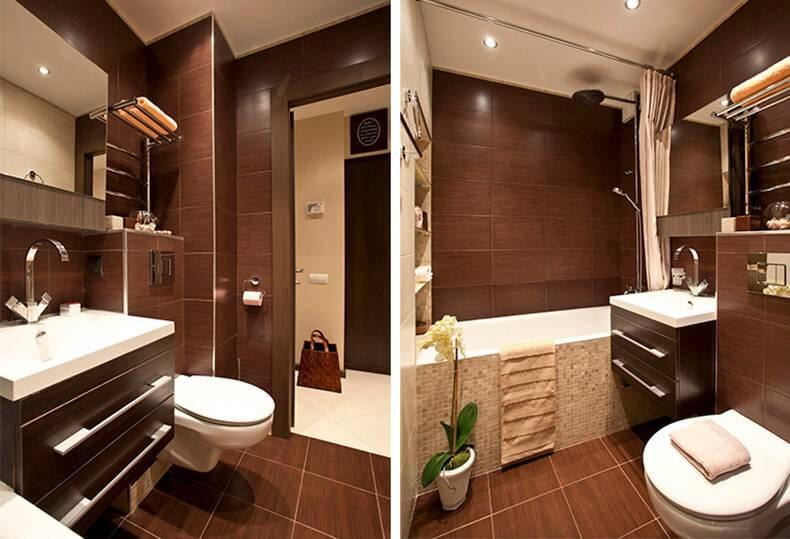 Коричневая ванная, как выбрать оттенок? топ-150 фото уютного дизайна и правильного сочетания цветов