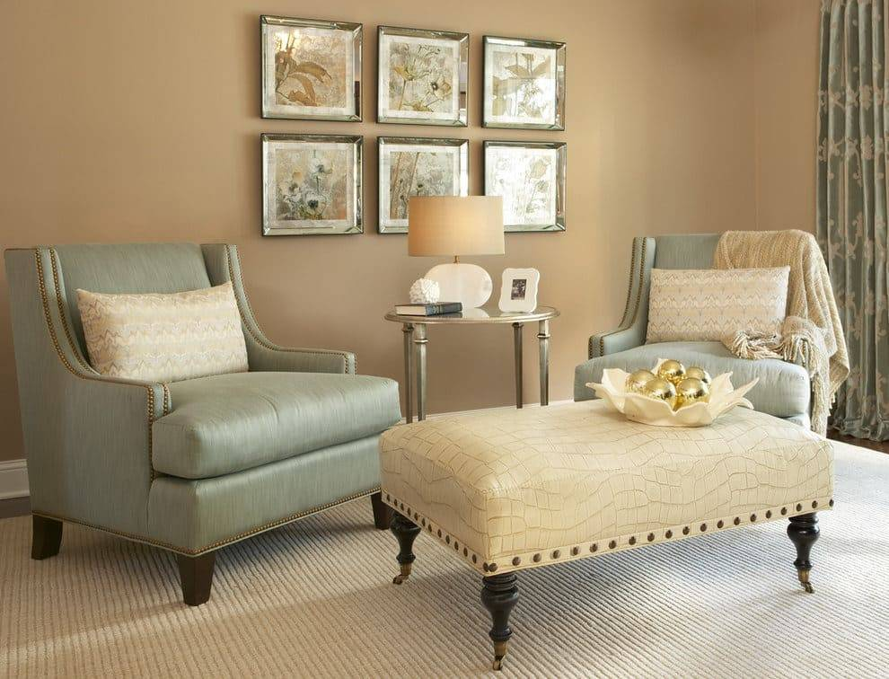 Теплые цвета в интерьере комнаты: сочетание с холодными - 34 фото