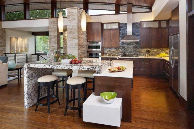 24 интерьера кухни в частном доме – грамотные варианты оформления