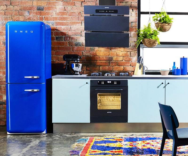 Холодильники бывают разные: синие, черные и даже красные