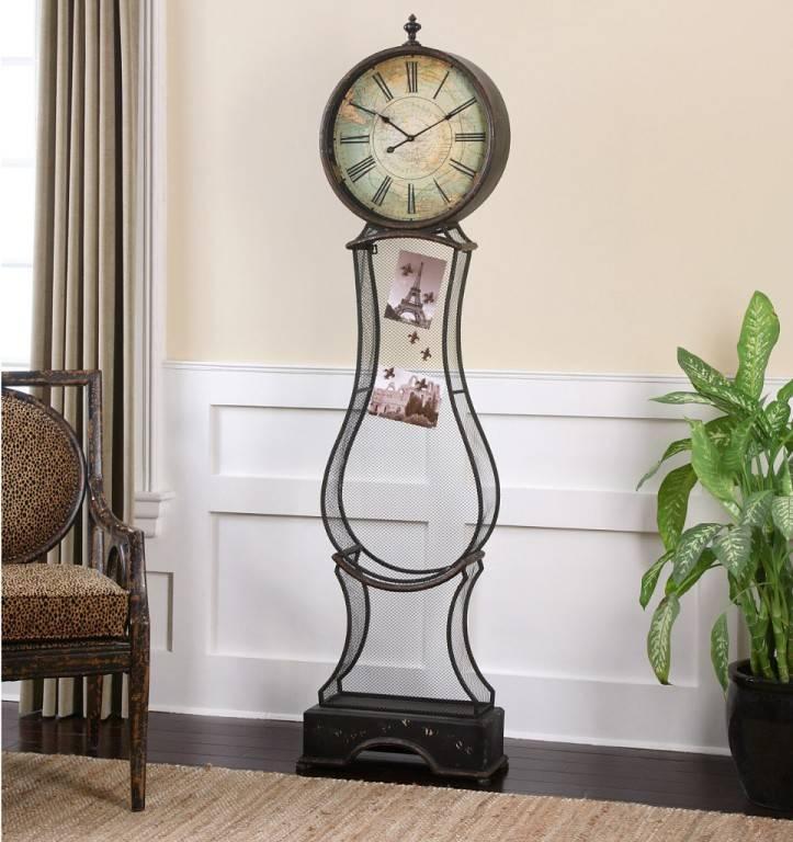 Часы в интерьере как оригинальный декор: настенные и напольные