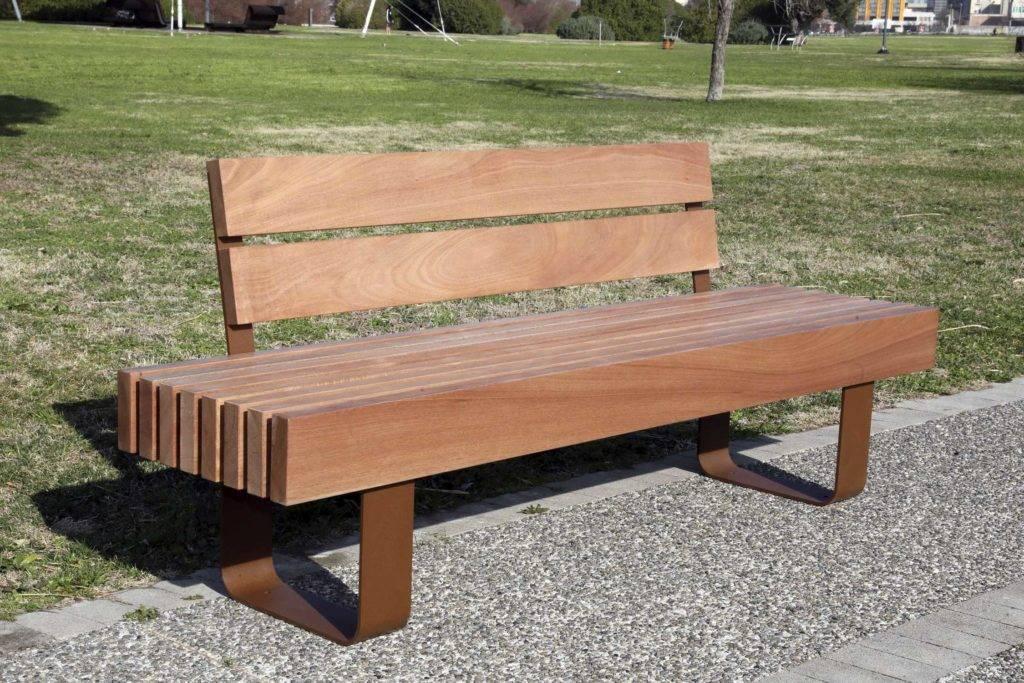 Оригинальные скамейки: описание и дизайн