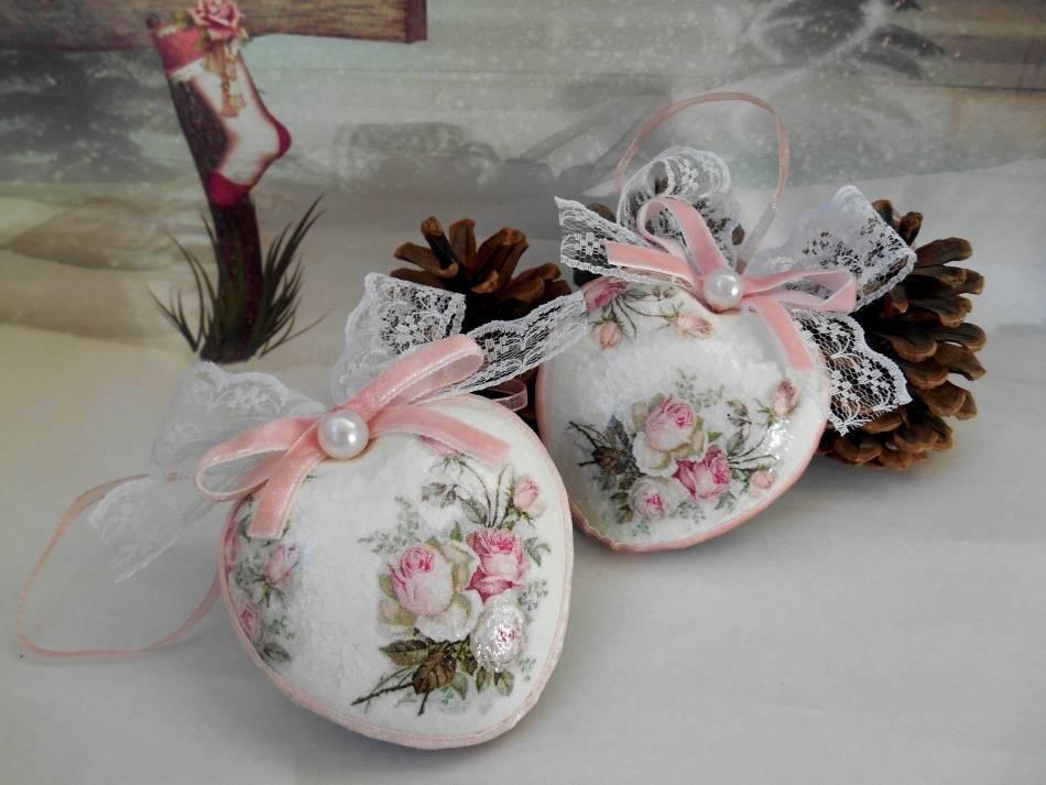 Новогодние шары декупаж — мастер-класс по созданию елочных шаров своими руками