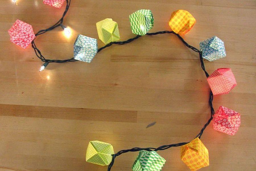 Новогодняя гирлянда своими руками - 20 идей +110 фото изготовления