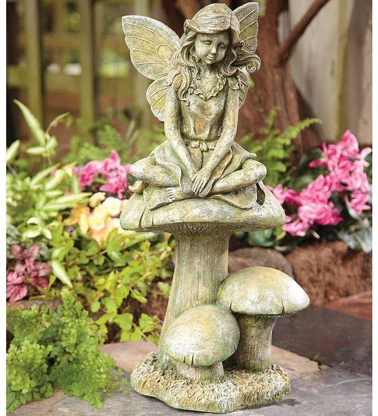 Скульптуры в саду: выбор материала, формы, стиля и цветовой гаммы