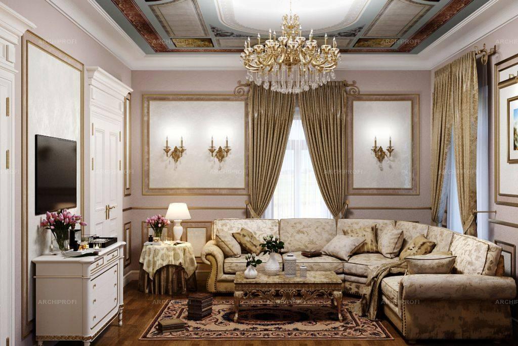 Интерьер гостиной в классическом стиле (89 фото): тенденции - 2021, направления «классика» и «неоклассика» для зала и комнаты приема гостей, красивые примеры интерьеров