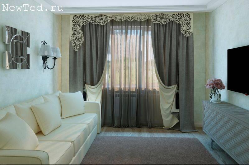 Красивые шторы в зал: современные модели, выбор цвета и дизайн