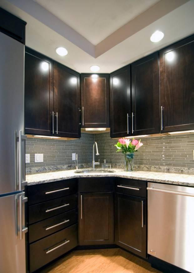 ???? угловой кухонный гарнитур: виды, материал, планировка и интерьер