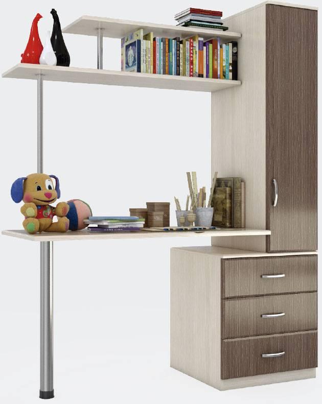 Стол в детскую комнату: как правильно выбрать, где поставить и можно ли сделать своими руками