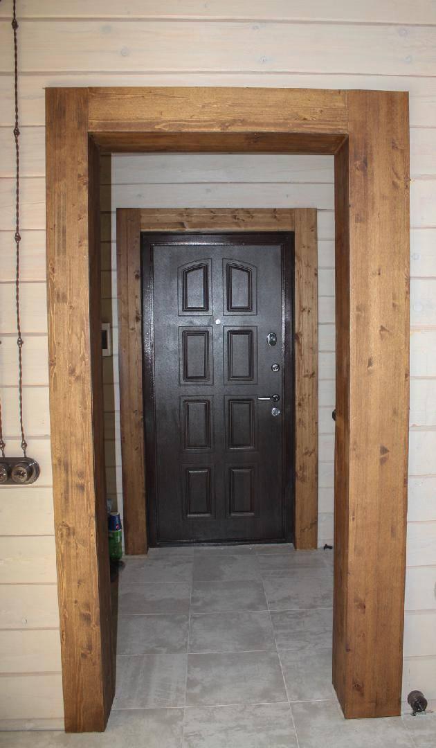 Как сделать откосы входной двери своими руками: варианты отделки дверного проема