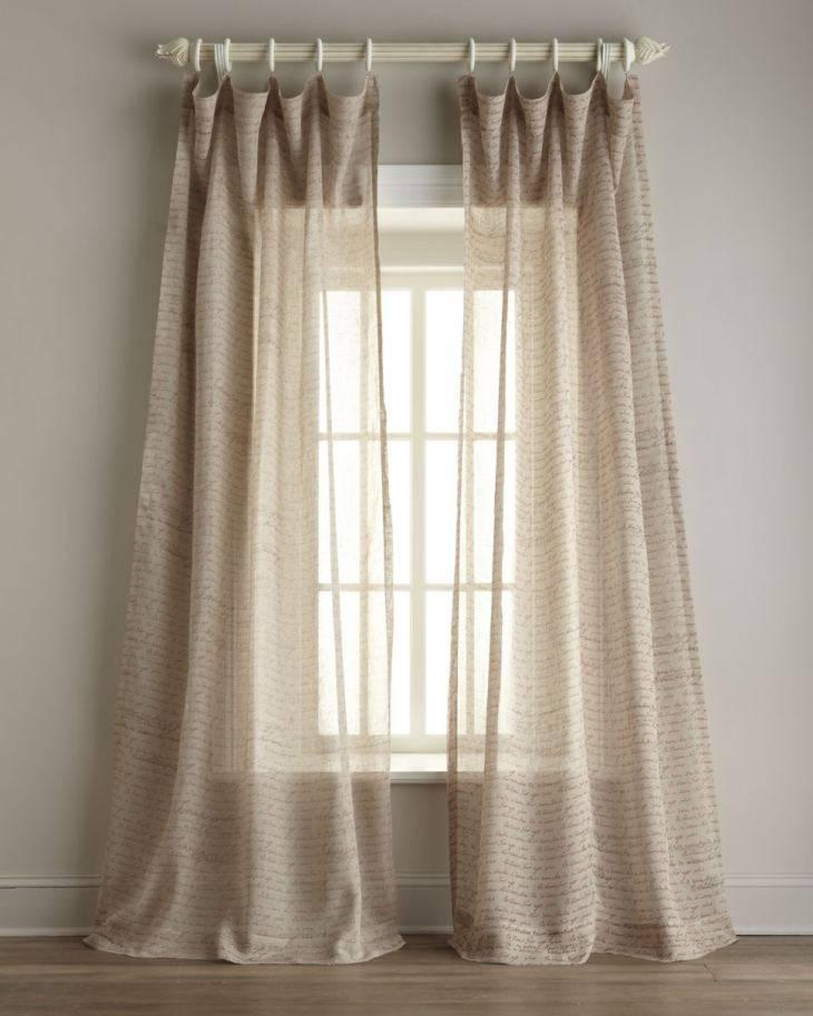 Льняной тюль (41 фото): оригинальные модели с вышивкой и с имитацией льна в интерьере, выбираем правильную длину