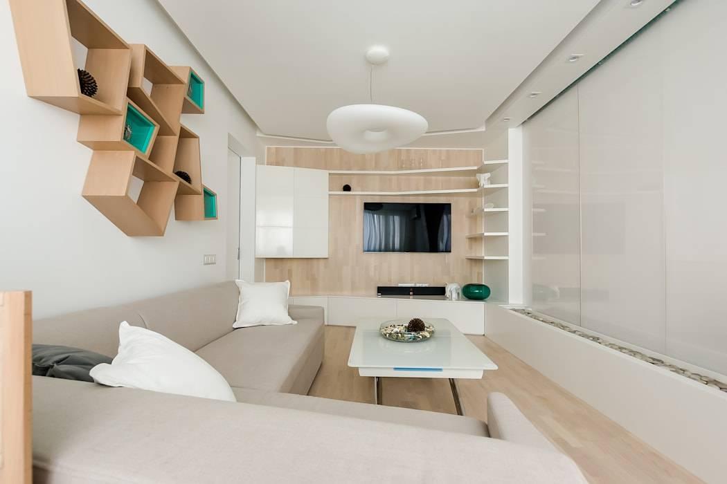 Дизайн квартиры-студии 25 кв. м (135 фото): интерьер с балконом, выбираем мебель для маленькой комнаты с одним окном и двумя
