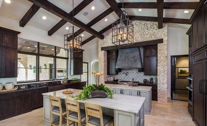 Кухня цвета венге (42 фото) выглядит благородно и изысканно