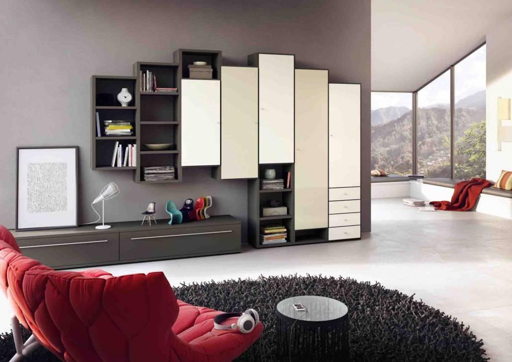 Советы по выбору дизайна стенки в гостиную современного стиля