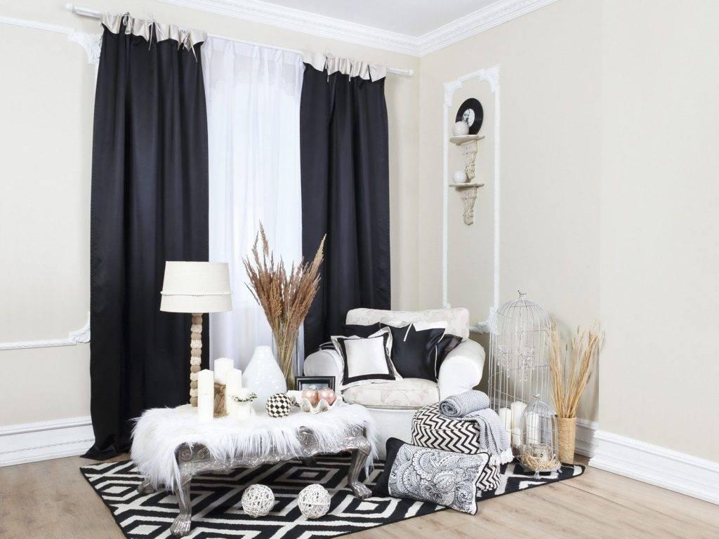 Серые шторы в интерьере — стильные варианты применения серого цвета и особенности его использования в дизайне (70 фото)