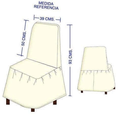 Лучшие модели чехлов на стул со спинкой: полезные советы, выкройки и фото