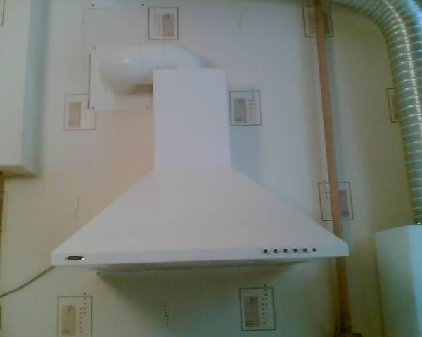 Правила установки вытяжки на кухне