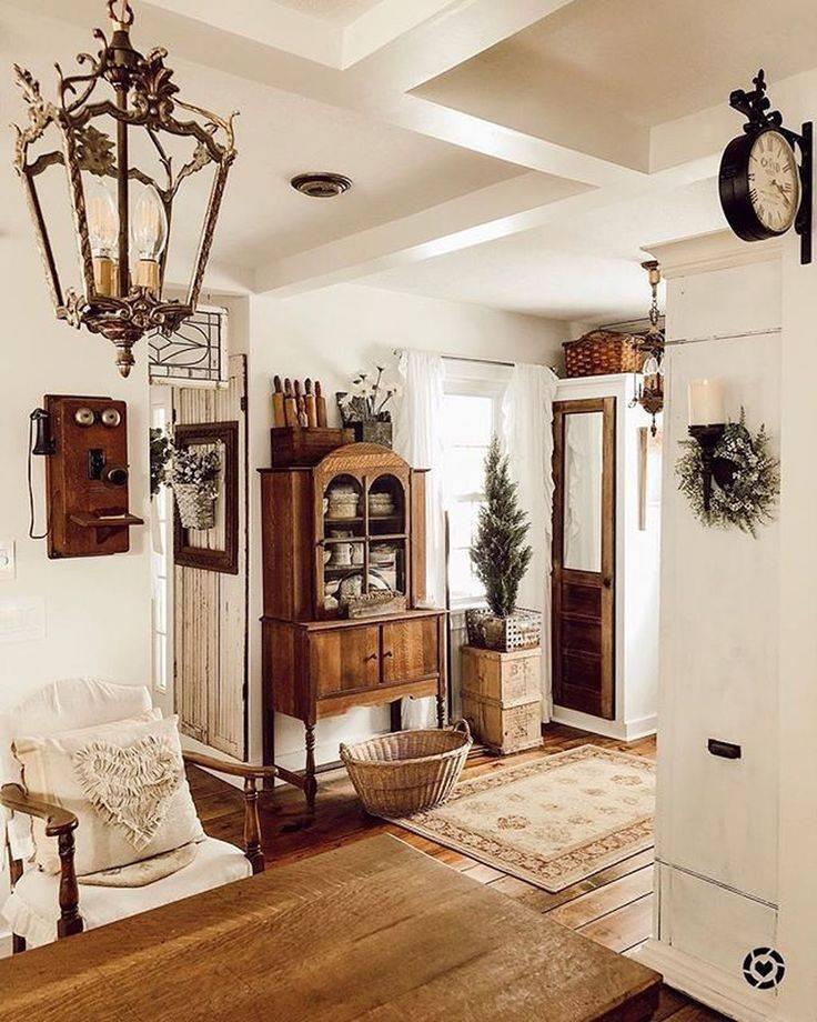 Гостиная в стиле кантри, правила оформления и секреты деревенского стиля - 30 фото