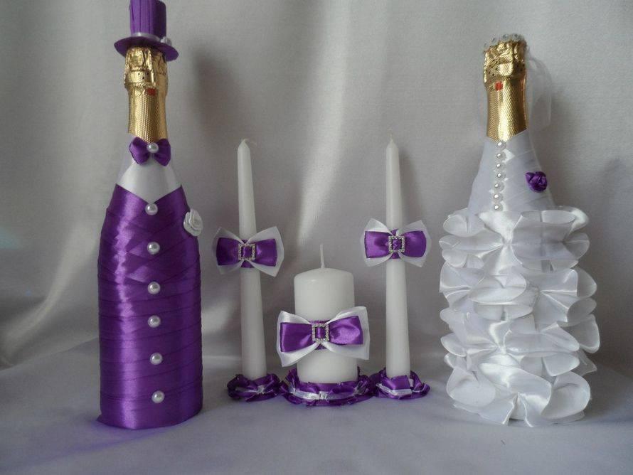 Как стильно оформить бутылку шампанского, коньяка или вина