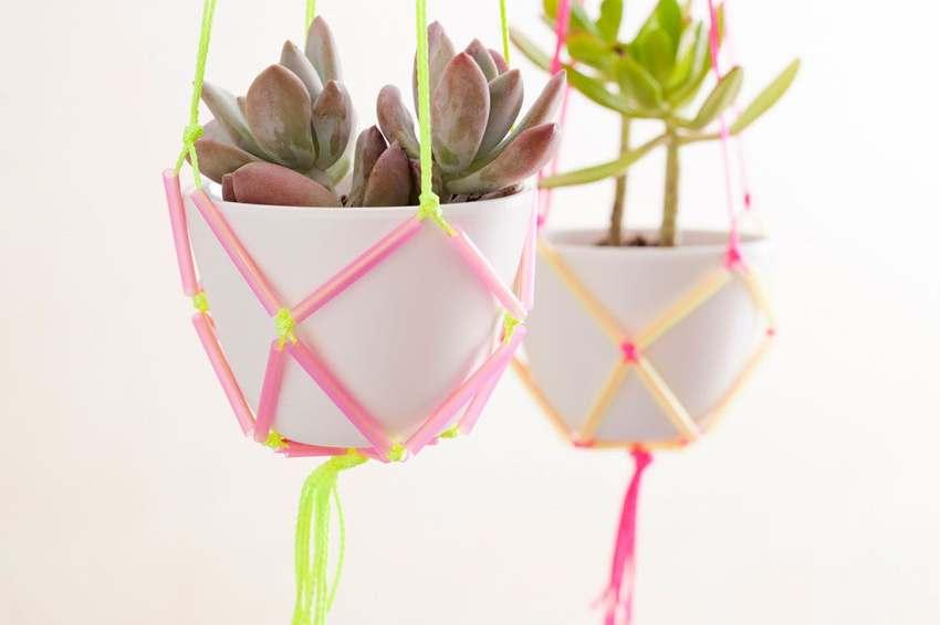 Горшок для цветов своими руками - фото примеров