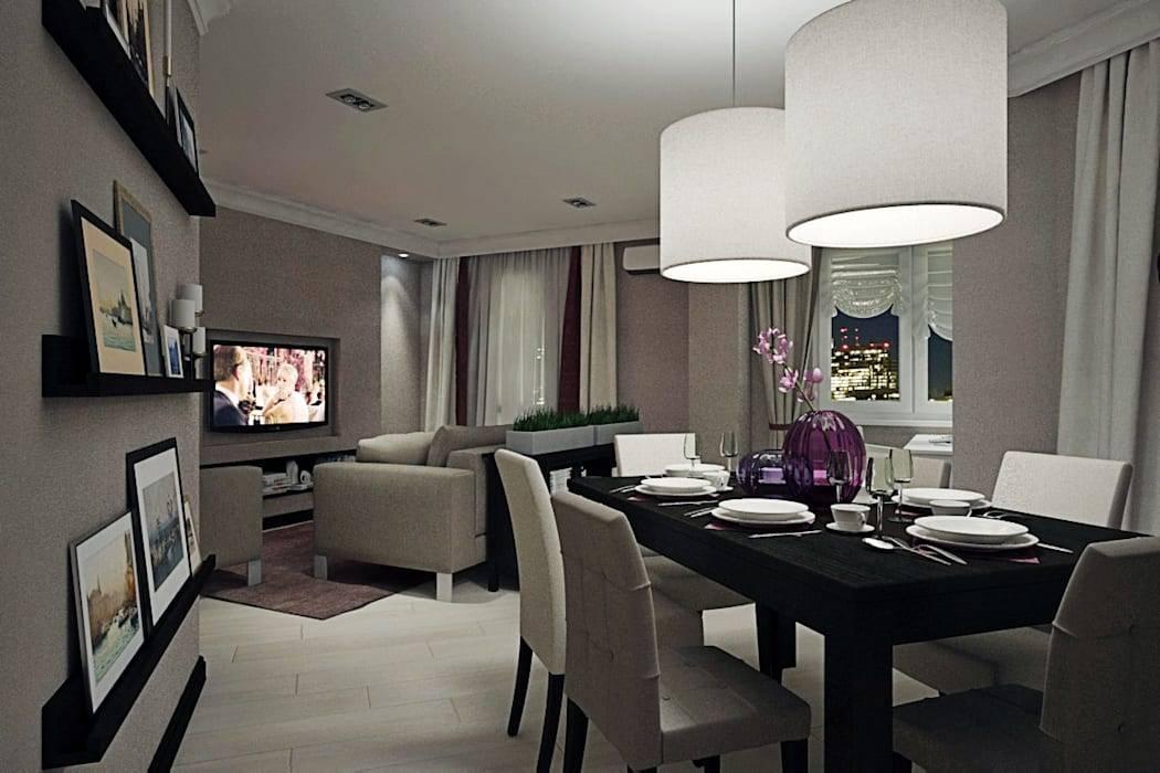 Гостиная-столовая: принципы дизайна, оформления, планировки и грамотного зонирования, 150 фото