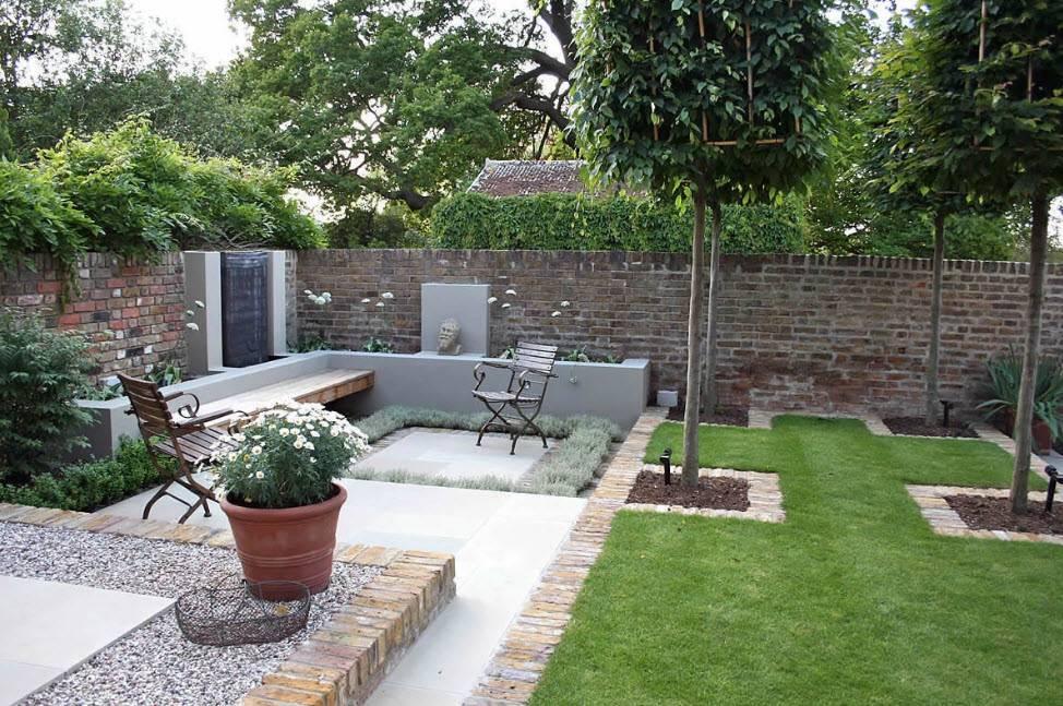 Дизайн двора частного дома - 180 фото идей декора и правила оформления двора частного дома