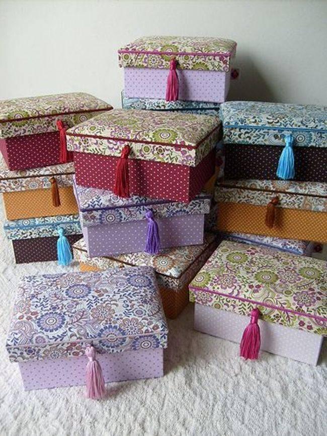 Декор коробки своими руками