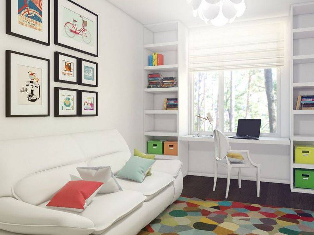Детская комната 10 кв. м. — варианты идеального дизайна в современном стиле (60 фото)