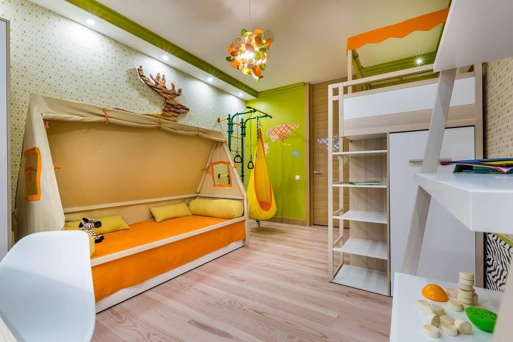 Детская 7 кв. м. - изумительный и современный дизайн (85 фото идей)