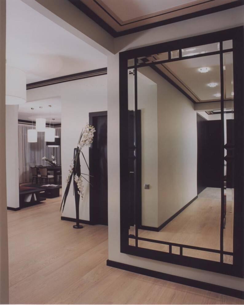 Как выбрать и куда разместить зеркало в интерьере прихожей - виды, формы и оформление ????