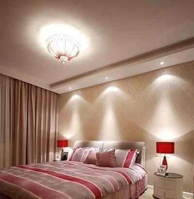 Лучшие варианты натяжных потолков для спальни
