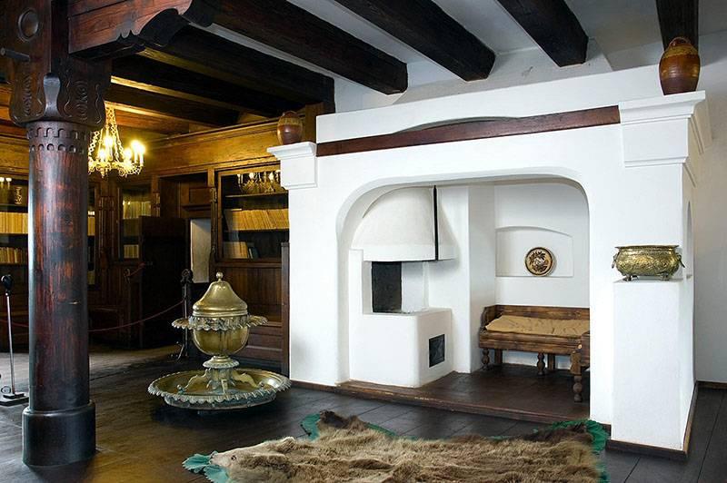 Печь в интерьере: разновидности конструкций и варианты дизайна (54 фото)
