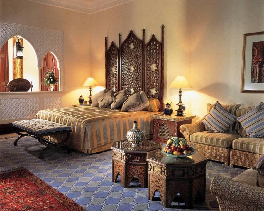 Арабский стиль в интерьере — 50 фото элитного дизайна