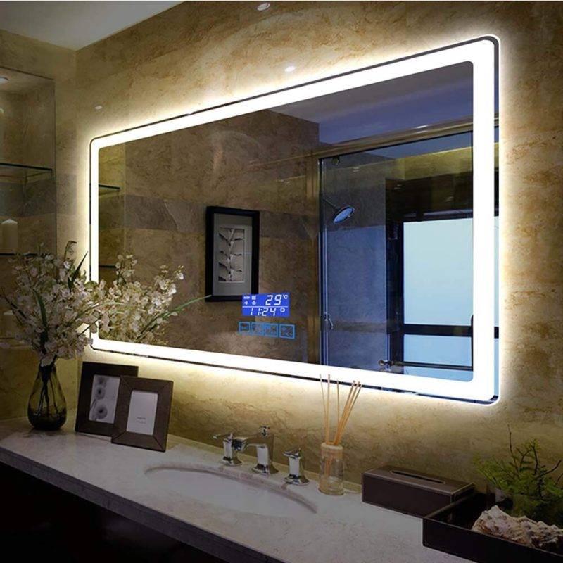 Зеркало в ванную комнату – интерьерные решения и правила размещения. 100 фото использования зеркал