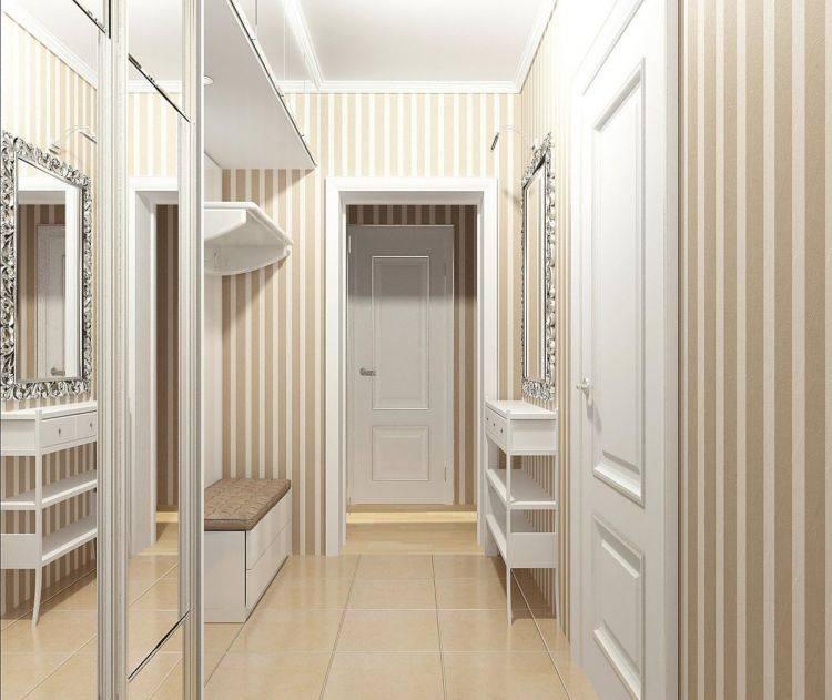 Дизайн узкой прихожей 2021 в современном стиле: идеи оформления, реальные фото
