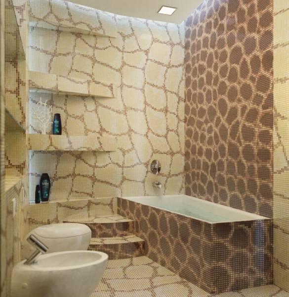 Ванная без плитки: идеи отделки и варианты оформления комнаты (50 фото)