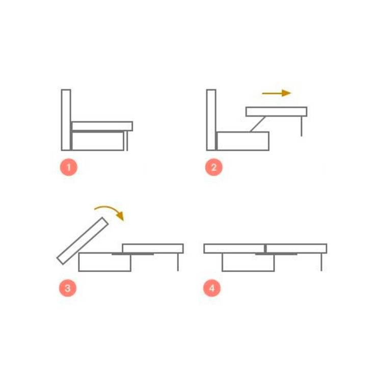 Диван аккордеон: принцип работы механизма, плюсы и минусы, отзывы