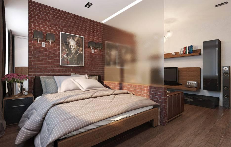 Красивый дизайн интерьера однокомнатной квартиры — 100 лучших идей на фото