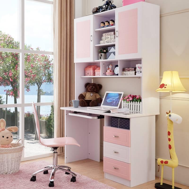 Письменный стол для двоих детей вдоль окна: угловое рабочее место для школьников | дизайн и фото
