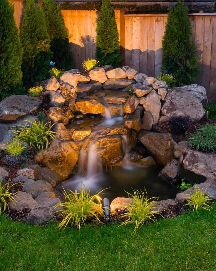 20 декоративных мини-водопадов, с которыми участок станет объектом зависти соседей
